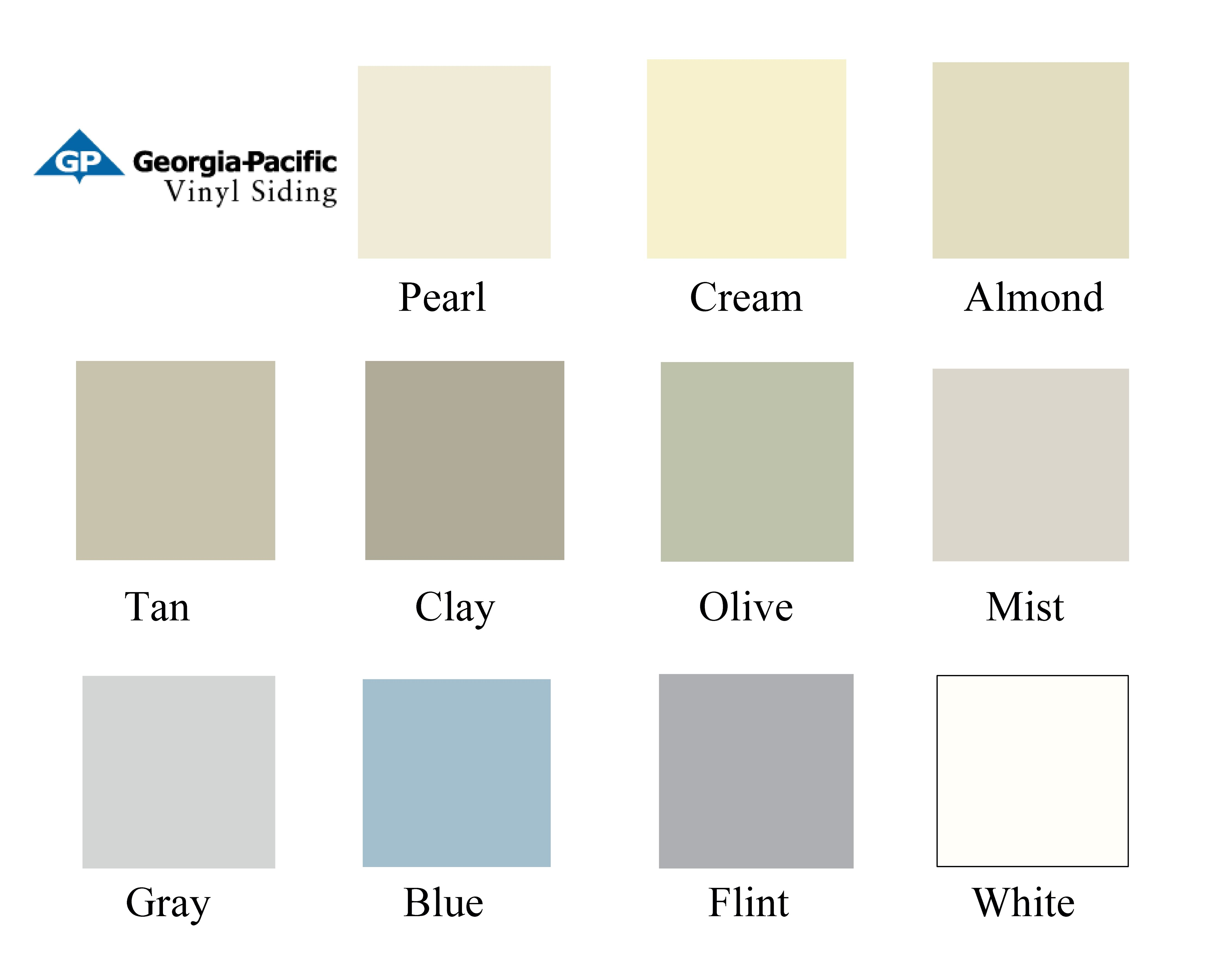 View Vinyl Colors